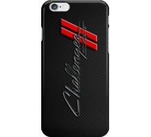 Carbon Fiber Challenger  iPhone Case/Skin