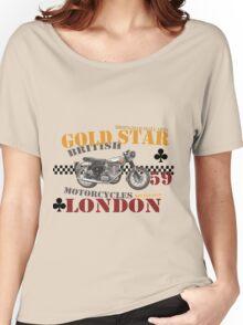 BSA Gold star T shirt Women's Relaxed Fit T-Shirt