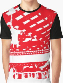 Japan Red Graphic T-Shirt
