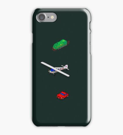 trains, planes and automobiles iPhone Case/Skin