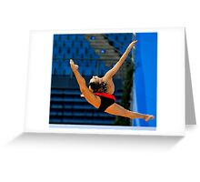 Rhythmic Gymnastics World Cup 2012  Greeting Card