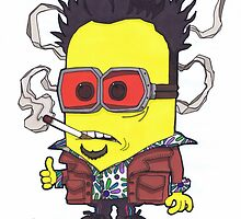 "Tyler ""Minion"" Durden, Banana Club. by Spencer Holdsworth Art"