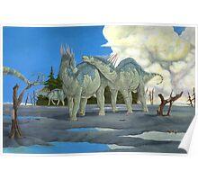 Amargasaurus Cazaui Poster