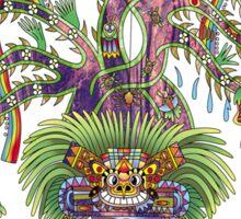 Aztec World Tree Sticker