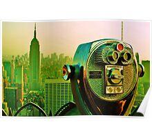 New york landscape Poster
