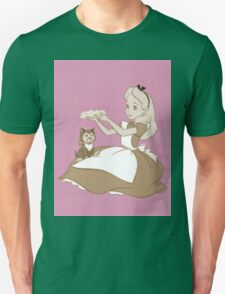 Vintage Alice and Dinah - Alice in Wonderland T-Shirt
