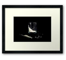"""Cocaine"" in a Glass Framed Print"