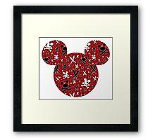 Mickey of the Caribbean Framed Print