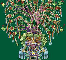 Aztec World Tree by flakdamage