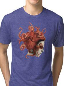 Octoheart Tri-blend T-Shirt