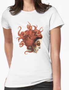 Octoheart Womens Fitted T-Shirt