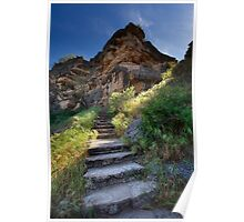 Stone Climb Poster
