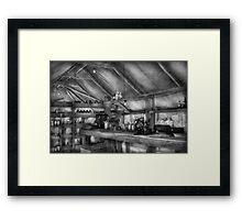 Pharmacy - WWII - Camp Sibert - Station hospital lab Framed Print