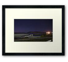 Kalbarri at night. f2.8 iso 400 and 28sec Framed Print