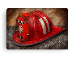 Fireman - A childhood dream Canvas Print