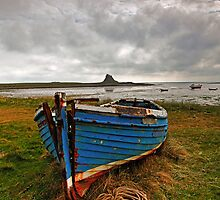 The Magpie, Holy Island Northumberland by Martin Lawrence
