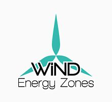 Wind Energy Zones Unisex T-Shirt