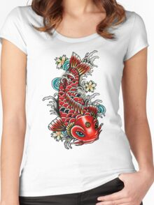 Ms. Fish Mooney  Women's Fitted Scoop T-Shirt