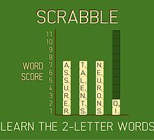Scrabble by the50ftsnail