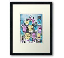 A Few Good Monsters Framed Print
