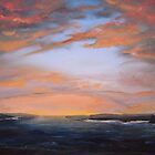 """""""Westray Sunset"""" (Image of an Oil Painting) by LBMcNicoll"""