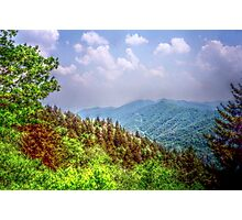 Valley Shot - North Carolina Photographic Print