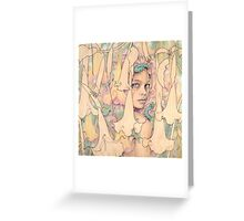 Datura Greeting Card