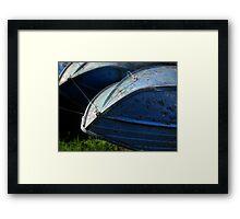 boat hull Framed Print