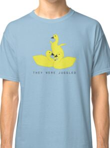 Baby geese - goslings! They were juggled! Classic T-Shirt