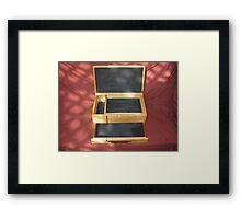 Silver Ash Jewellery Box Framed Print