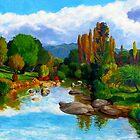 The McDonald River II by Cary McAulay