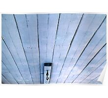 Porch Ceiling Blue Poster