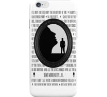 Jim Moriarty...Hi. iPhone Case/Skin