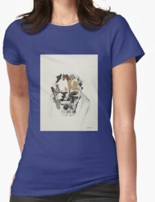 Grizzled Womens Fitted T-Shirt