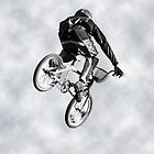 Biking Big Air  by Corri Gryting Gutzman