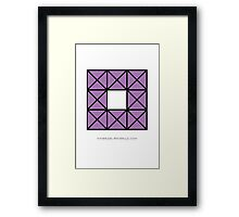 Design 53 Framed Print
