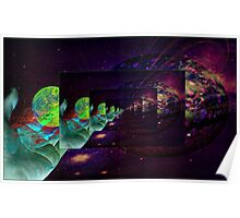 The expanding consciousness of being Poster