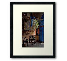 Cantina Corner Framed Print