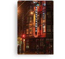 The Pennsylvania at West Hastings Canvas Print