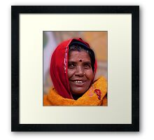 Joyful Eyes Framed Print