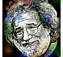 JERRY GARCIA-COLOUR ME by OTIS PORRITT