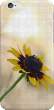 Sunny Flower iphone Case by Corri Gryting Gutzman