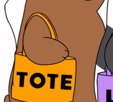 Tote Life Sticker
