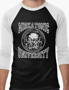 Miskatonic University Men's Baseball ¾ T-Shirt