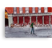 Plaza Mayor Canvas Print