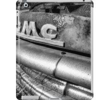Infrared Old B&W Truck iPad Case/Skin