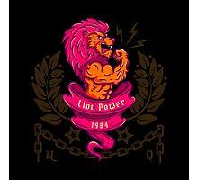 lion bodybuilder Photographic Print