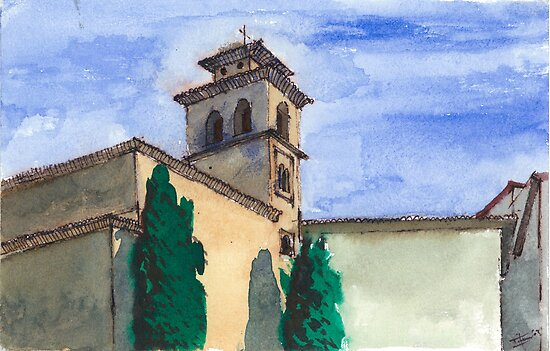 Church in Granada by Eitan Kabillo