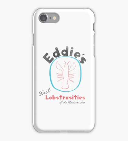 Eddie's Fresh Lobstrosities of the Western Sea iPhone Case/Skin