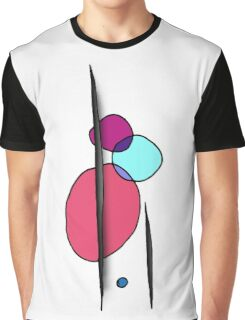 Simple Modern Abstract Shape Art Graphic T-Shirt